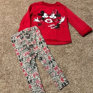 Disney Mickey and Minnie Mouse Girls 4T bundle
